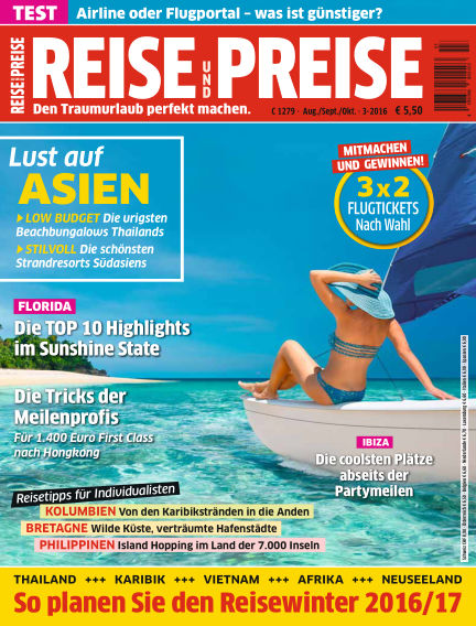 REISE & PREISE July 03, 2016 00:00