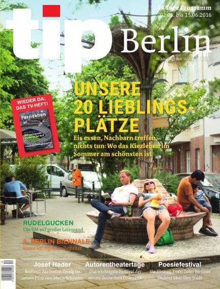 tip Berlin June 01, 2016 00:00
