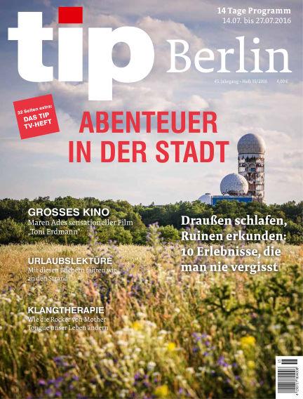 tip Berlin July 12, 2016 00:00