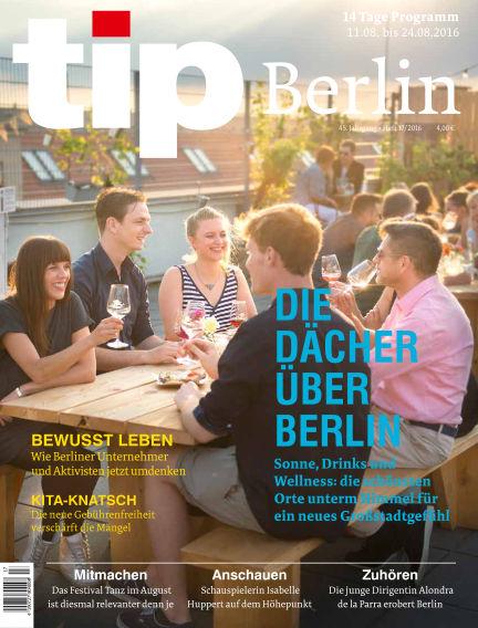 tip Berlin August 10, 2016 00:00