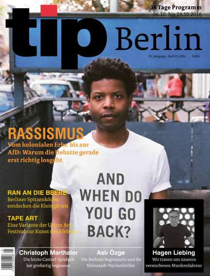 tip Berlin October 06, 2016 00:00