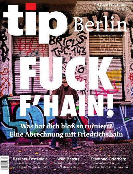 tip Berlin October 20, 2016 00:00