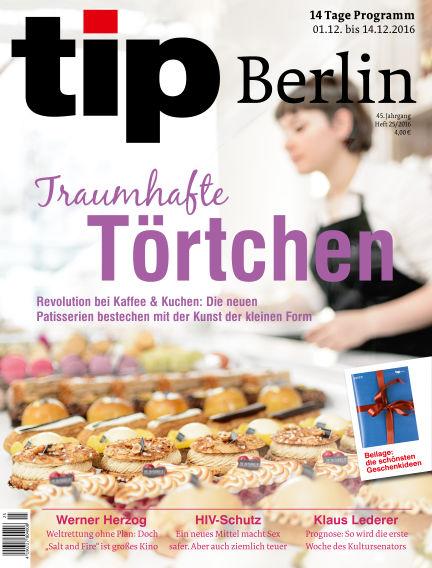 tip Berlin November 30, 2016 00:00