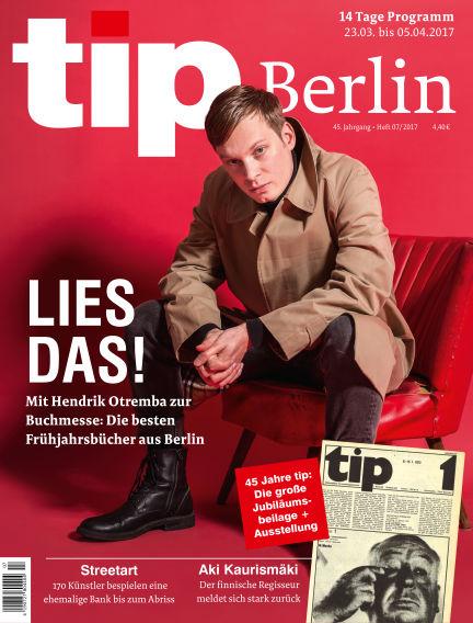 tip Berlin March 22, 2017 00:00