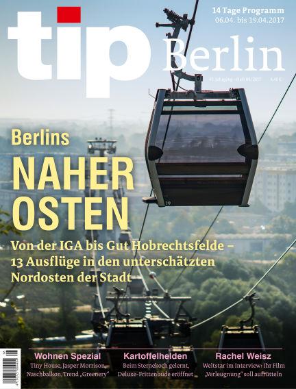 tip Berlin April 05, 2017 00:00