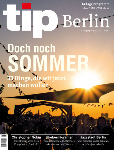 tip Berlin July 26, 2017 00:00