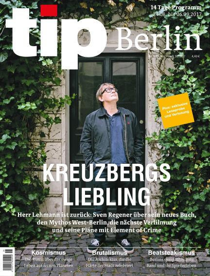 tip Berlin August 23, 2017 00:00