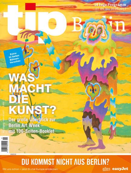 tip Berlin September 06, 2017 00:00
