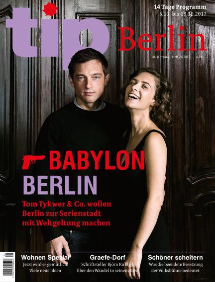 tip Berlin October 04, 2017 00:00