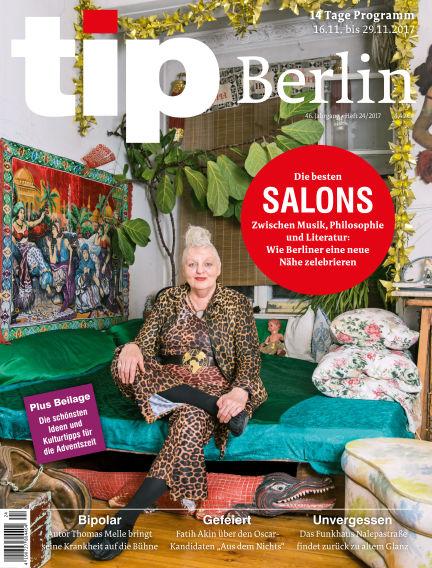 tip Berlin November 15, 2017 00:00