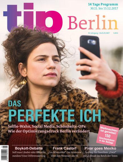 tip Berlin November 29, 2017 00:00