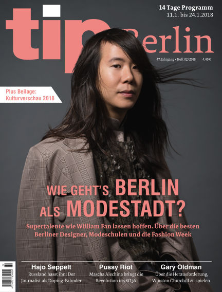 tip Berlin January 10, 2018 00:00