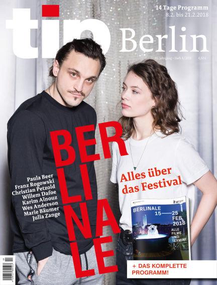 tip Berlin February 07, 2018 00:00