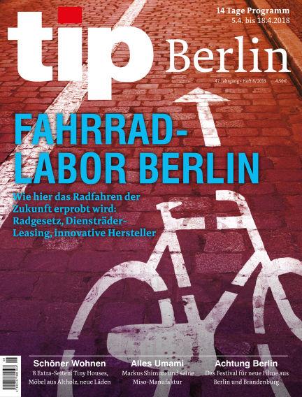 tip Berlin April 04, 2018 00:00