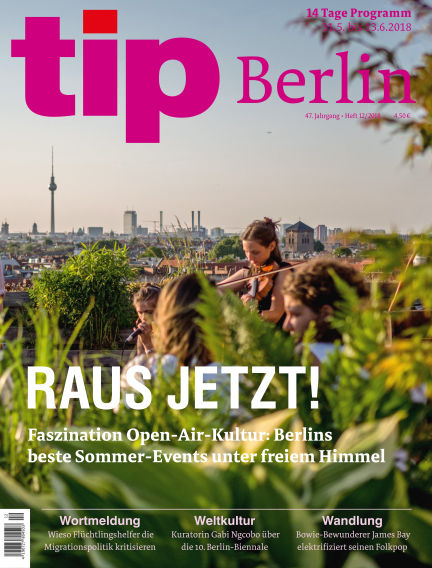 tip Berlin May 31, 2018 00:00
