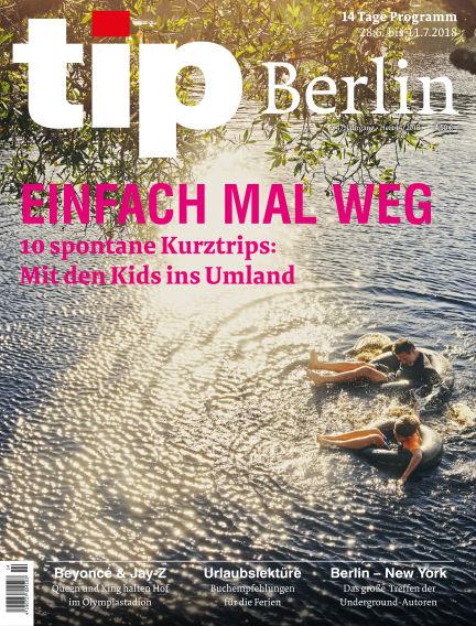 tip Berlin June 27, 2018 00:00