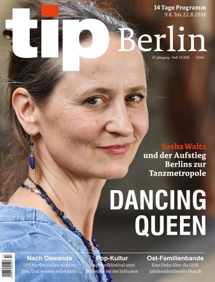 tip Berlin August 08, 2018 00:00