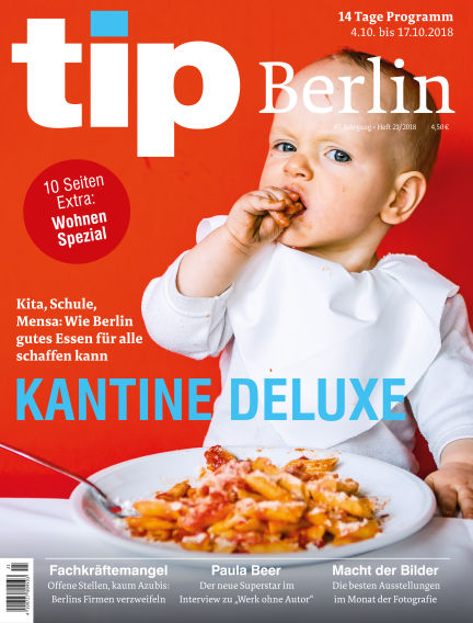 tip Berlin October 03, 2018 00:00