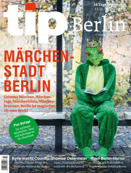 tip Berlin November 14, 2018 00:00