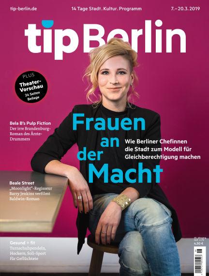 tip Berlin March 07, 2019 00:00