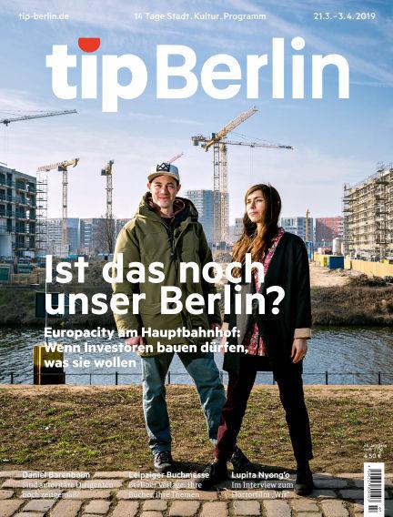 tip Berlin March 20, 2019 00:00
