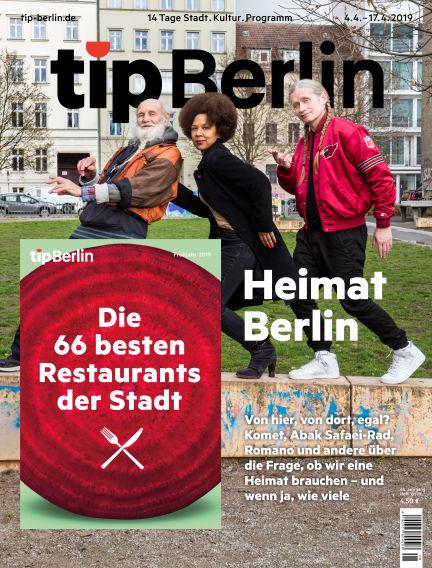 tip Berlin April 04, 2019 00:00