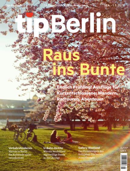 tip Berlin April 18, 2019 00:00