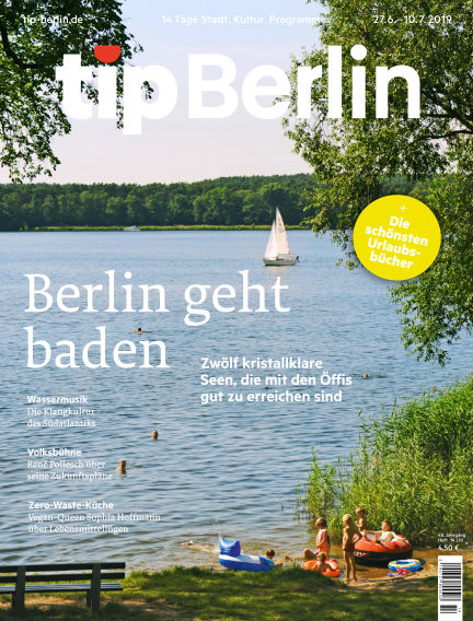 tip Berlin June 27, 2019 00:00