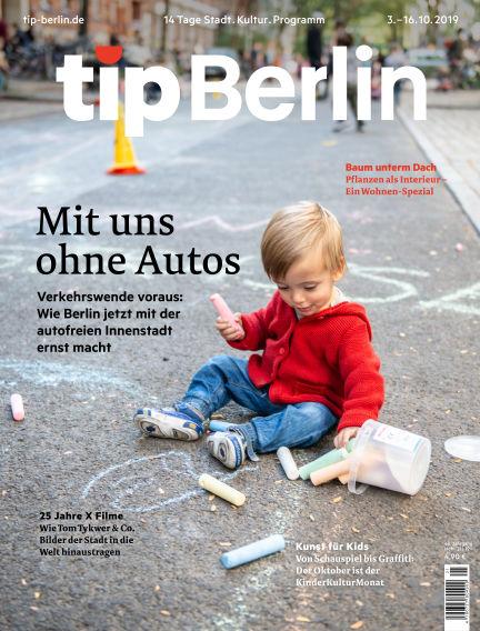 tip Berlin October 02, 2019 00:00