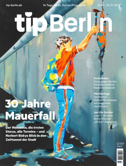 tip Berlin October 31, 2019 00:00