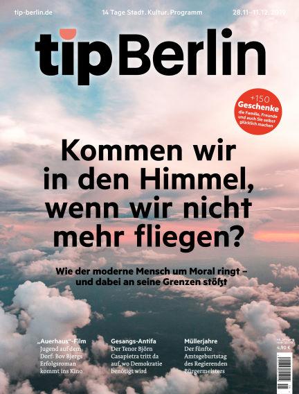 tip Berlin November 27, 2019 00:00