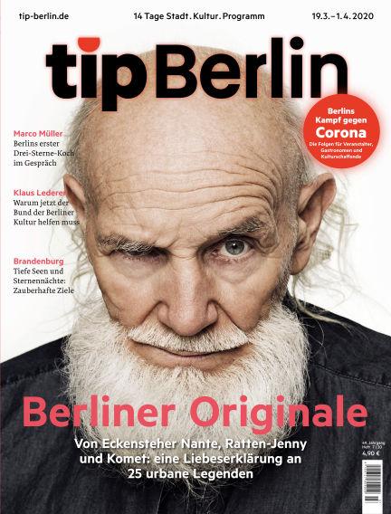 tip Berlin March 18, 2020 00:00