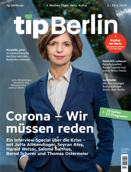 tip Berlin April 02, 2020 00:00