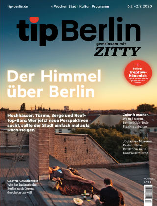 tip Berlin 17/2020 August