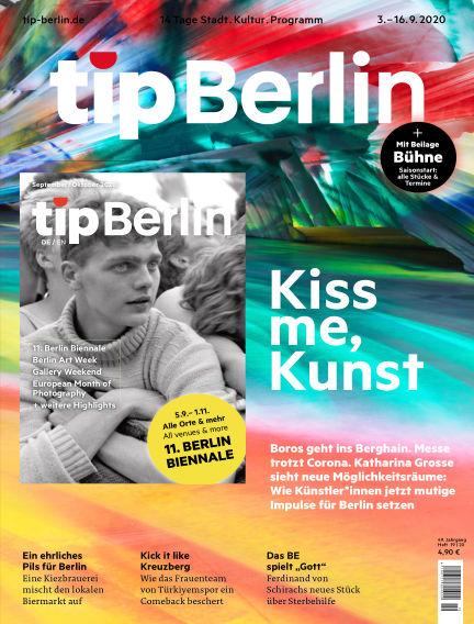 tip Berlin September 02, 2020 00:00