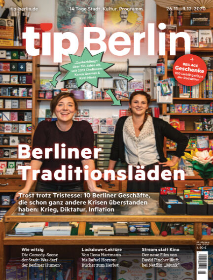 tip Berlin November 25, 2020 00:00
