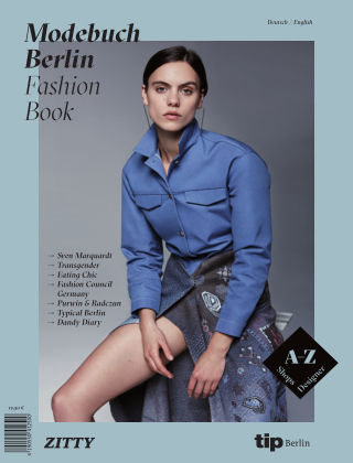 "Modebuch | Fashion Book Berlin 2016 ""Corinna"""