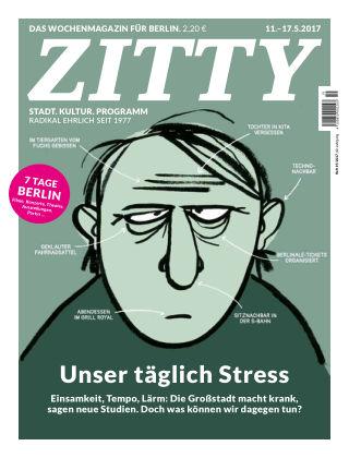 ZITTY Das Berlin-Magazin für 14 Tage und die Nächte 19/2017