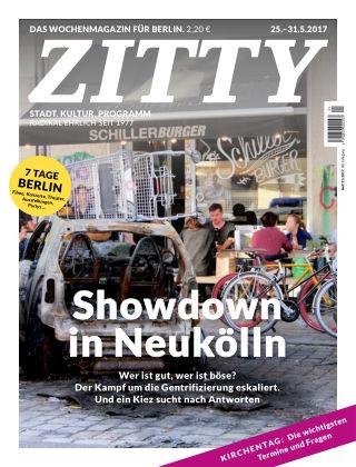 ZITTY Das Berlin-Magazin für 14 Tage und die Nächte 21/2017