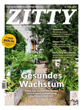 ZITTY Das Berlin-Magazin für 14 Tage und die Nächte 23/2017