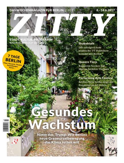 ZITTY Das Berlin-Magazin für 14 Tage und die Nächte June 06, 2017 00:00