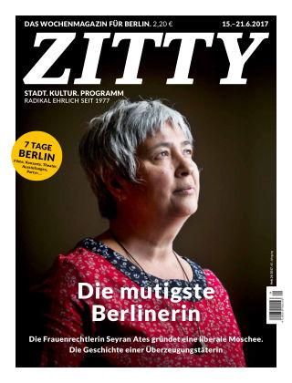 ZITTY Das Berlin-Magazin für 14 Tage und die Nächte 24/2017