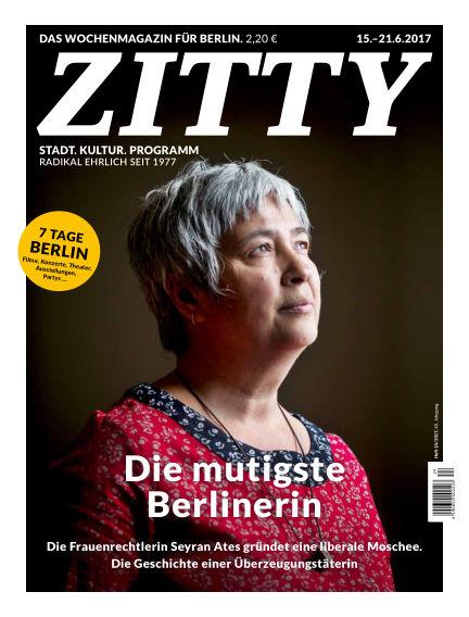 ZITTY Das Berlin-Magazin für 14 Tage und die Nächte June 13, 2017 00:00