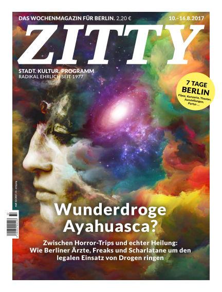 ZITTY Das Berlin-Magazin für 14 Tage und die Nächte August 08, 2017 00:00