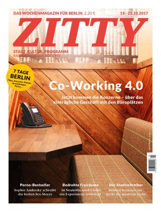 ZITTY Das Berlin-Magazin für 14 Tage und die Nächte 42/2017