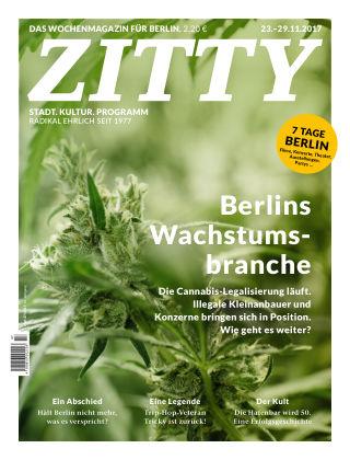 ZITTY Das Berlin-Magazin für 14 Tage und die Nächte 47/2017