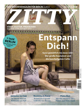 ZITTY Das Berlin-Magazin für 14 Tage und die Nächte 2/2018