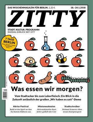 ZITTY Das Berlin-Magazin für 14 Tage und die Nächte 3/2018