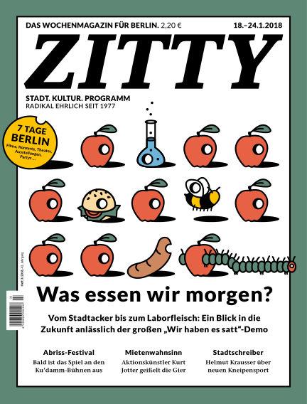 ZITTY Das Wochenmagazin für Berlin