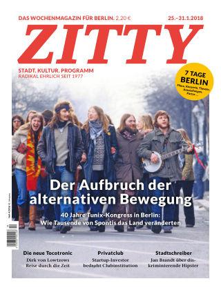 ZITTY Das Berlin-Magazin für 14 Tage und die Nächte 4/2018